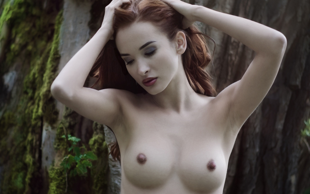 About Hard nipples outdoors and the