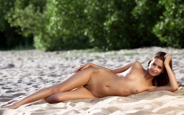 2249x1499 pix. Wallpaper irina j, lidija, nude, women, beach, small tits, haired vagina