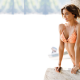 Miranda Kerr, outdoors, swimwear, bikini, tropics wallpaper