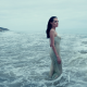angelina jolie, outdoors, actress, wet dress, beach, transparent, sea wallpaper