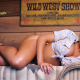 rosa acosta, ebony, brunette, exotic, boots, wild west wallpaper