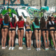 ass, oiled, 9 asses, nine girls, sexy, panties, sexy ass, hot ass, wall, graffiti wallpaper