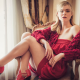 elle fanning, the neon demon, actress, sexy legs, red dress wallpaper
