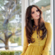 genesis rodriguez, latina, brunette, yellow dress, actress wallpaper