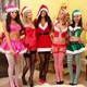 girls, legs, Charlotte Springer, summer saint claire, shapki, stacey poole, seksualynye, snow maiden wallpaper