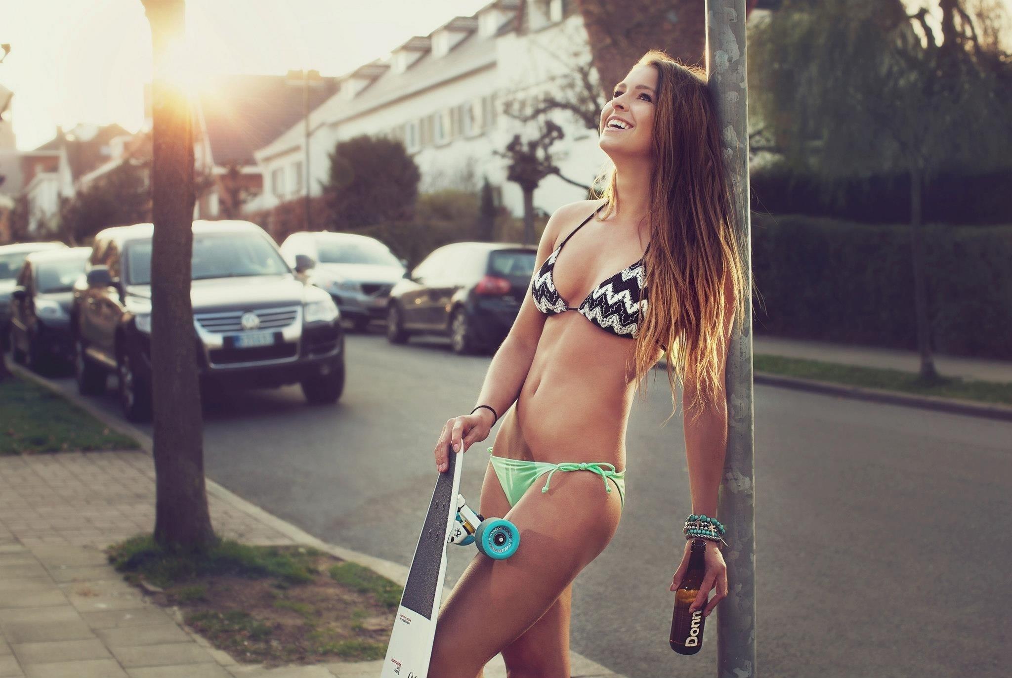 Tattooed chick Mandy Haze taking first time anal outdoors in bikini top № 771731 загрузить