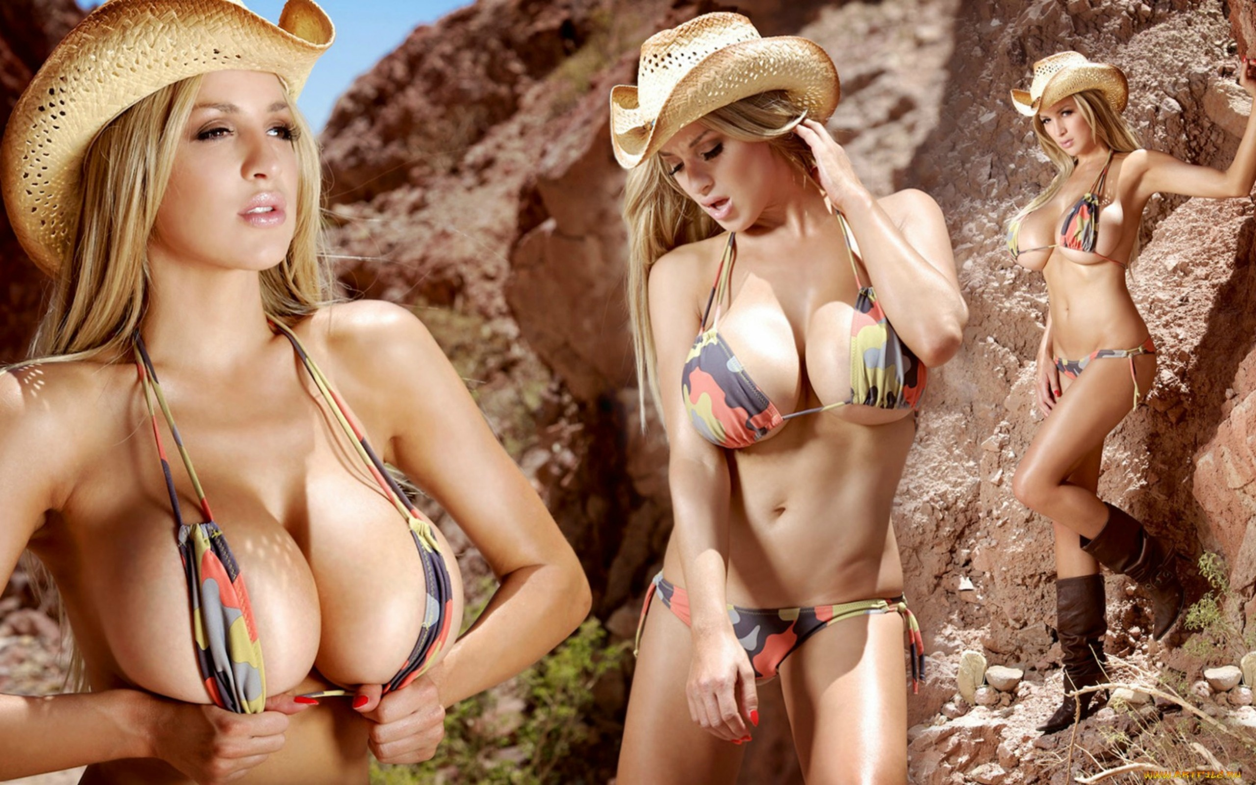 Loveable blonde babe uncovering her jaw-dropping tits outdoor № 780159 без смс