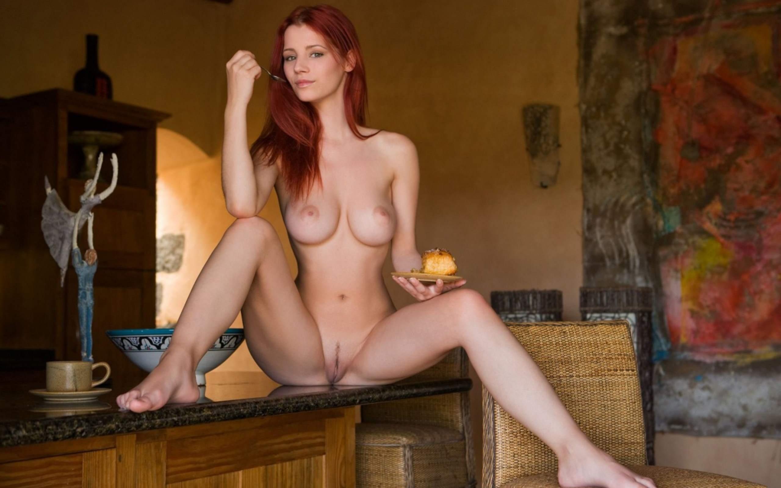 Смотреть онлайн фото голая рыжая девушка