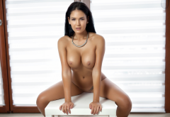 kendra, tanned, busty, boobs, tits, brunette, playboy wallpaper
