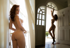 ana lucia fernandes, playboy, ass, boobs, tits, collage, naked, ass, sexy wallpaper