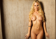 jennifer vaughn, playboy, blonde, big tits, boobs, shaved pussy, navel, sexy wallpaper