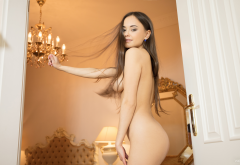 li moon, annika a, kiki, lee moon, tits, boobs, brunette, naked wallpaper