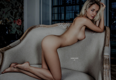 naked, ass, boobs, blonde, tits, model wallpaper