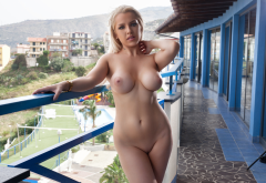 yasmin, blonde, nude, boobs, big tits, shaved, hotel, photodromm wallpaper