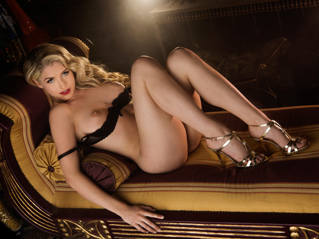 Playboy lingerie centerfold
