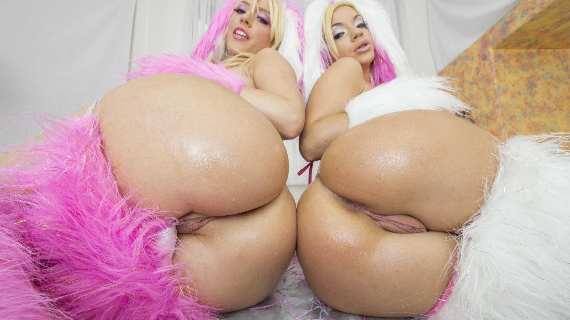 Порно большие и сочные задницы