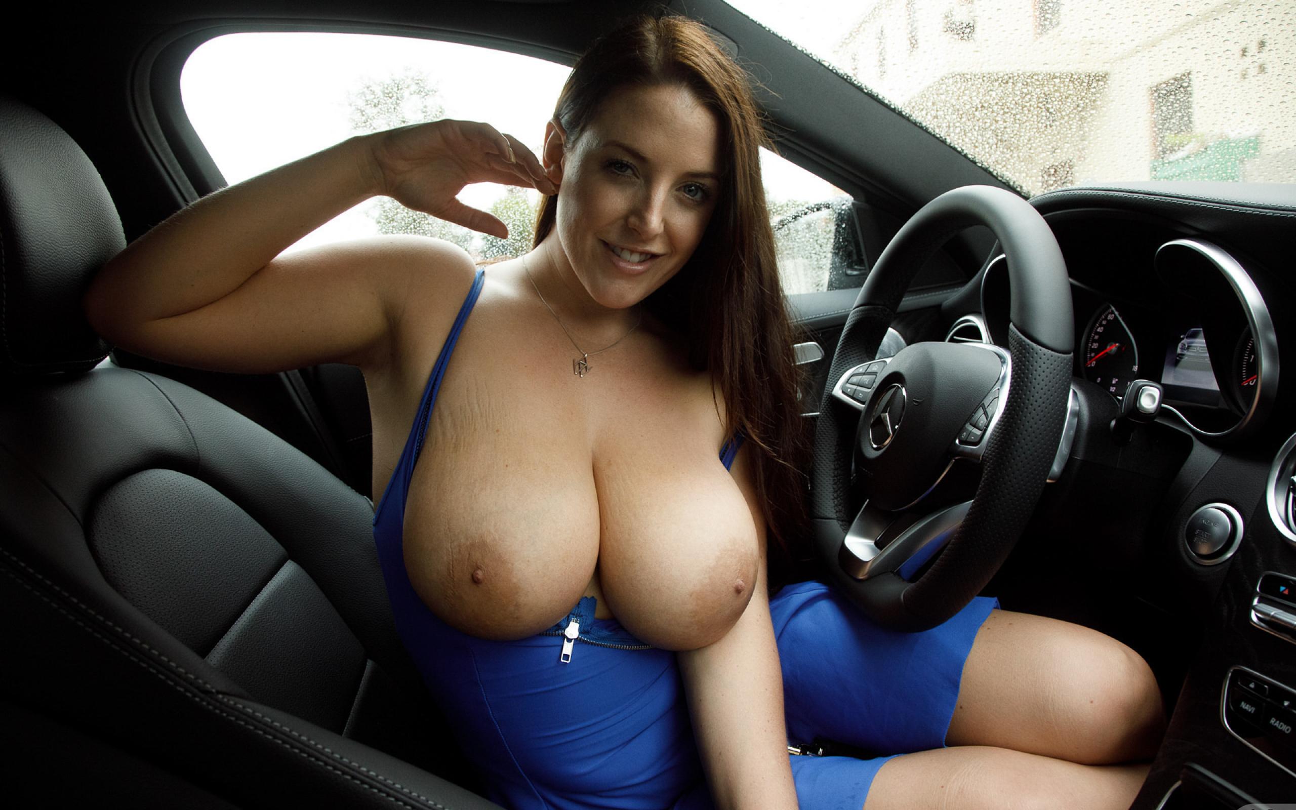 Boob car show, dancer pussy feet