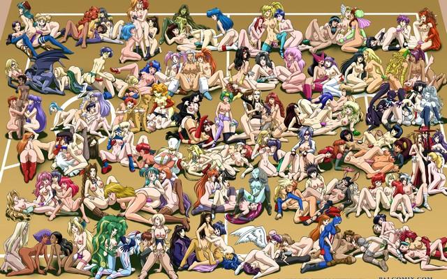 nude group women
