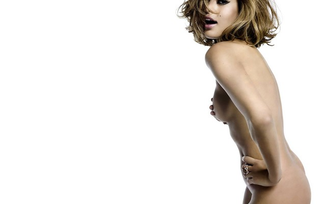 Topless Eva Mendes Wallpaper Nude Photos