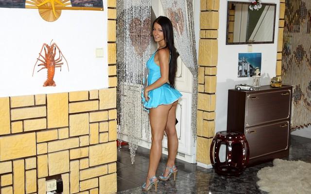 Wallpapers girl, model, beauty, Melisa Mendiny, posing