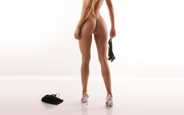 Accept. The high heels naked back girls advise you