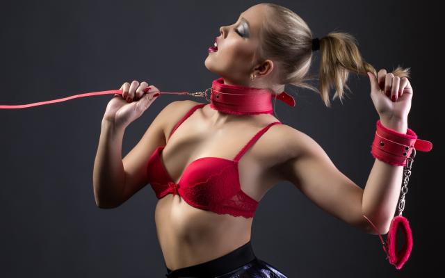 Photo Red Bra, Bdsm, Bra, Sexy, Fetish, Submissive -9976