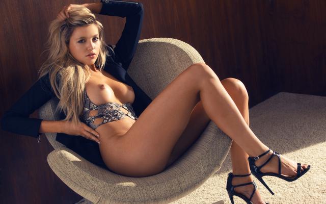 Big boobs sexy legs high heels