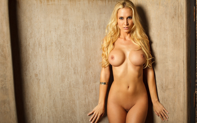 Playboy Blonde Big Boobs