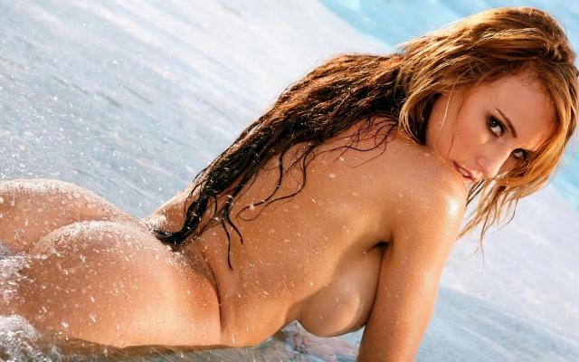 Heavily tattooed naked women