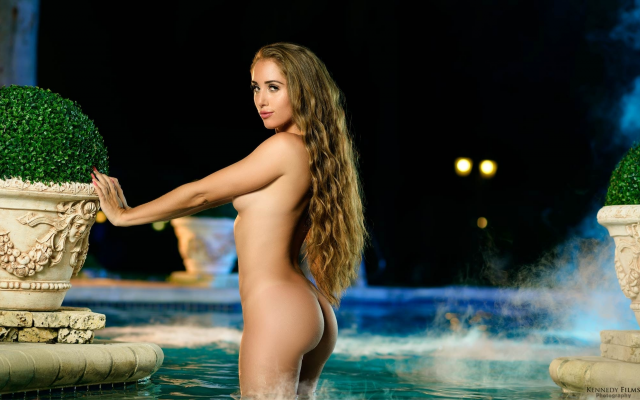 Photo melissa lori, naked, nude, ass, swimming pool