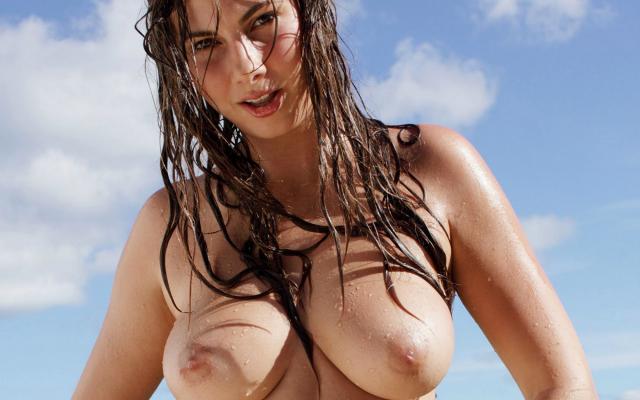 big tits wet