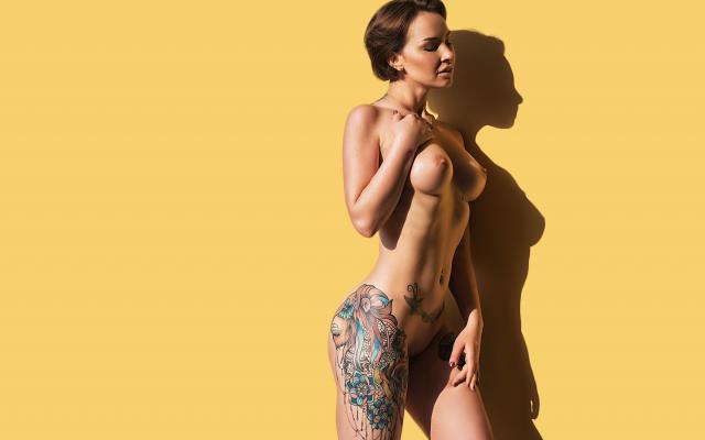 Amateur Tattoo Big Tits
