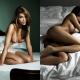 nancy lynn de ronde, playboy, collage, oiled, nude, legs, boobs, tits, in bed, brunette wallpaper