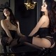 odri bitoni, girl, playboy, mirror, cassie laine wallpaper