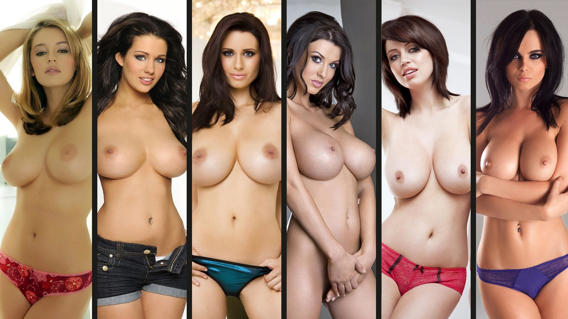 1920x1080 pix. Wallpaper glamour, huge boobs, Keeley Hazell, Alice Goodwin,  holly