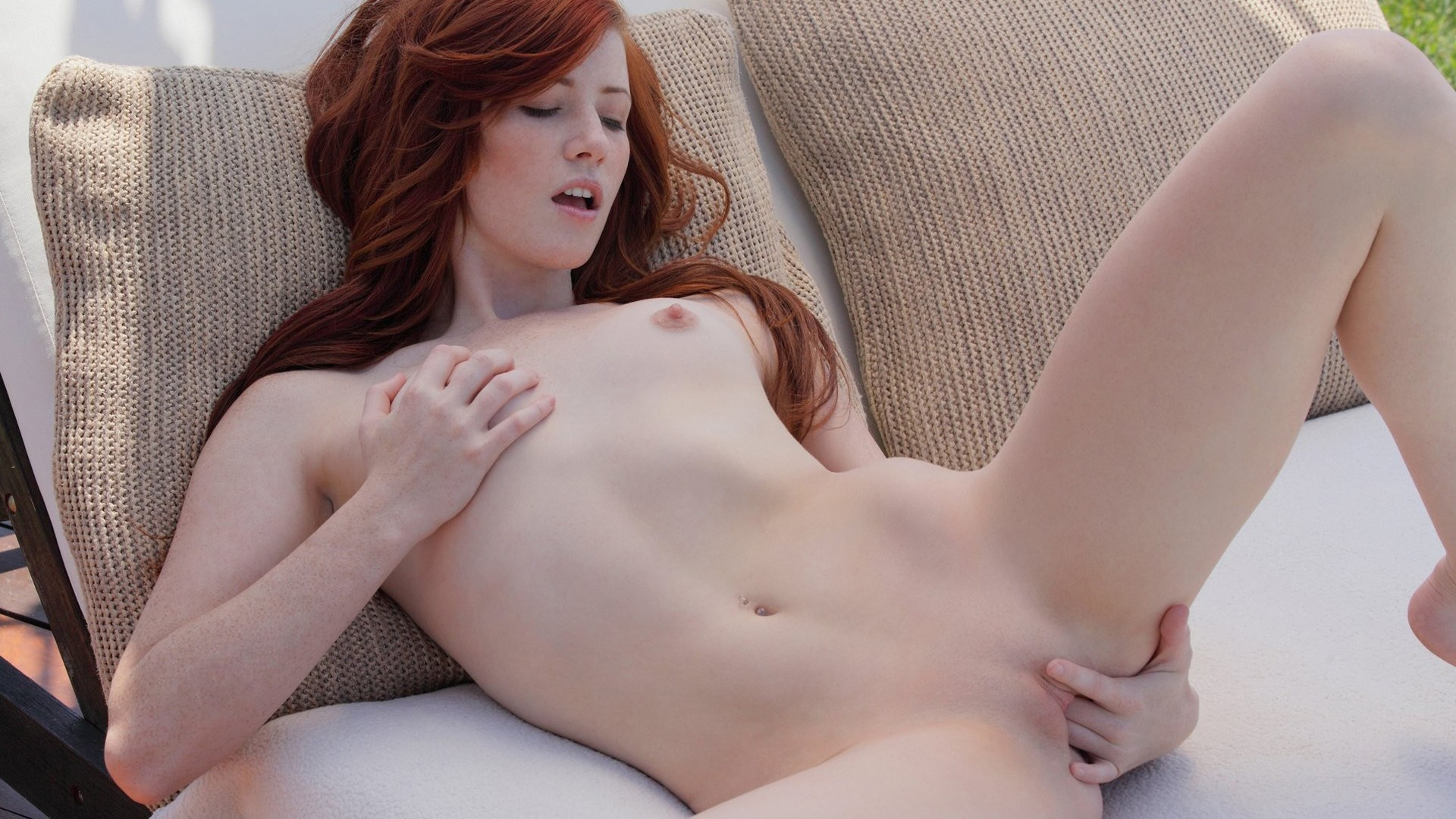 Speaking, would pale redhead spread nude legs for