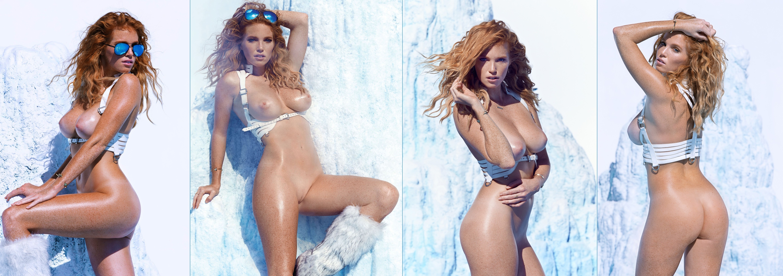 Download 5236x1844 elizabeth ostrander, collage, nude, wet ...