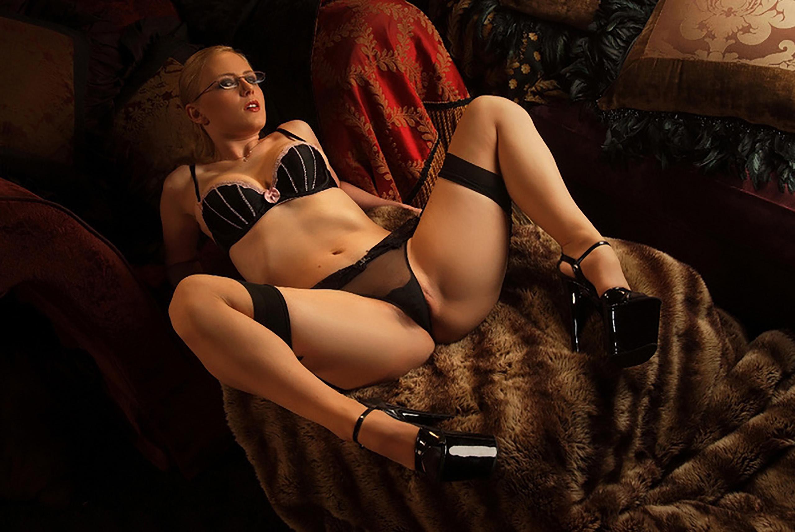 Sexy lingerie striptease daftsex