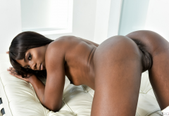 ana foxxx, ass, doggy, brunette, exotic, labia wallpaper