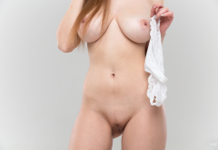 marryk, boobs, big tits, naked, shaved pussy, white panties, pussy, labia, hot wallpaper
