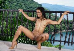 Sexy bikini girls with small tits