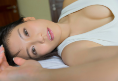 yui shirakawa, asian, model, brunette wallpaper