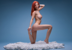 ariel piperfawn, gabrielle lupin, gabriella e, boobs, big tits, ass,redhead, naked, sexy, hot, smiling wallpaper