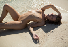 olivia preston, playboy, wet, beach, naked, pussy, sexy, hot, trimmed pussy, boobs, tits, nipples, tanned wallpaper