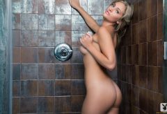 charlotte rose, naked, model, playboy, ass, shower, tits, boobs wallpaper
